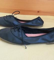 New Look fekete bőr balerina cipő, 41-es