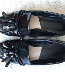 Mango fekete lakk cipő
