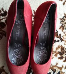 Piros telitalpú cipő 40-es (ár alkudható)