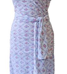 Új Virágos fodros nyári ruha
