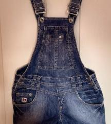 Missq  márkájú kantáros farmer rövidnadrágok eladó