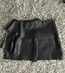 Zara bőrszoknya s