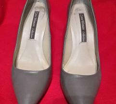 Zara bézs-barna bőrcipő