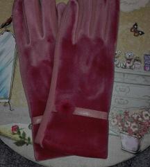Rózsaszín vintage kesztyű