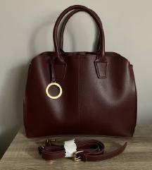 Mohito bordó táska új