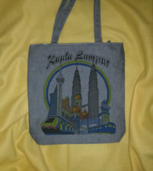 shopper táska Kuala Lumpur design