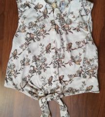 Fehér mintás nyári ing