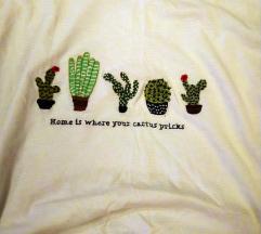 Stradivarius kaktuszos póló
