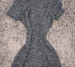 Zara alkalmi szürke ruha elegáns business