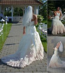 Sellő menyasszonyi ruha