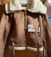 Barna bélelt kabát