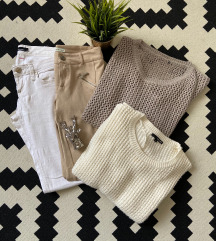 Lyukacsos pulóver