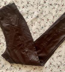 H&M Burgundi műbőr leggings
