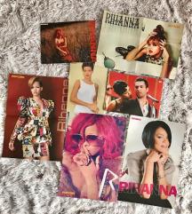 Rihanna poszterek 7 db