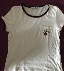 Tally weijl fehér mintás póló