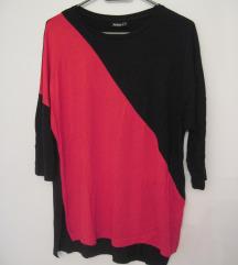 Fekete-piros felső