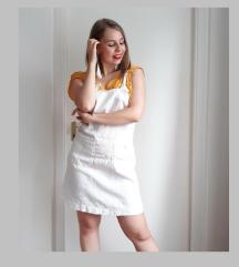 Vintage fehér kertész szoknya