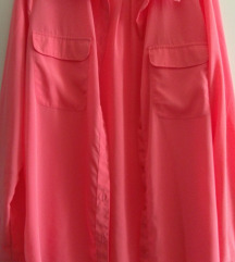 Corall színű ing