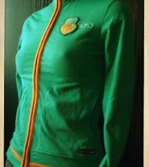 új Ecko zöld pulóver