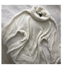 H&M fehér oversized garbó