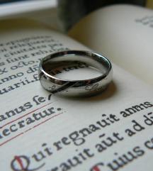 White Gold14K, ródiumozott love karika gyűrű