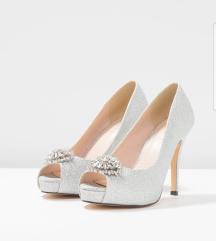Menbur menyasszonyi cipő 36