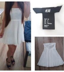 H&M fehér egyberuha