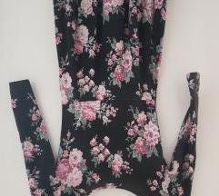 Virágos skater ruha