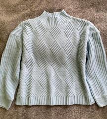 Babakék pulóver