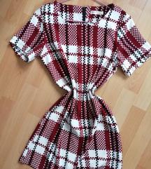 Kockás női ruha