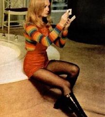 Vintage bőrcsizma