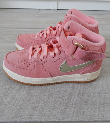 pink Nike Air Force magas szárú cipő, 38-as