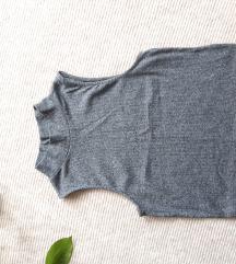 H&M szürke crop top