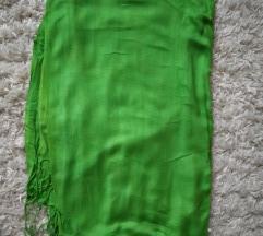 Nagy zöld kendő