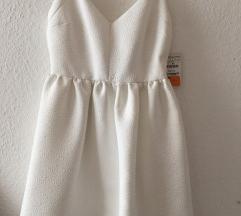 Zara fehér alkalmi ruha