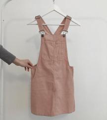 *ÚJ* Pull&Bear kordbársony kantáros ruha