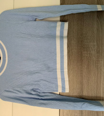 H&M-es kék crop top