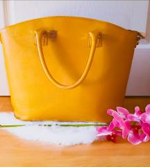 Egyedi nagy sárga táska