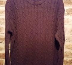 Férfi gyapjú pulóver (XL)