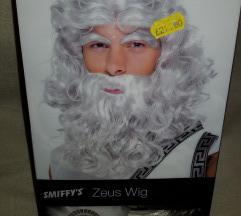 Zeusz paróka szett új
