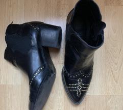 H&M igazi bőr bokacsizma cipő 39