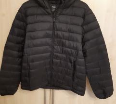 Új fekete meleg kabát