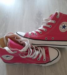 Újszerű eredeti Converse pink cipő