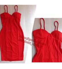 Új piros ruha