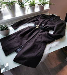 Oversized Vintage barna kabát M/L/XL 🍫