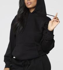 Basic pulóver kapucnival