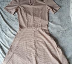 H&M bordázott ruha