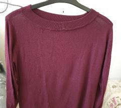 Lezser lila kötött pulóver