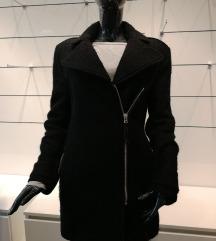 H&m fekete téli kabát