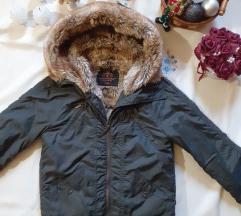 Meleg téli kabát pici hibával S-es